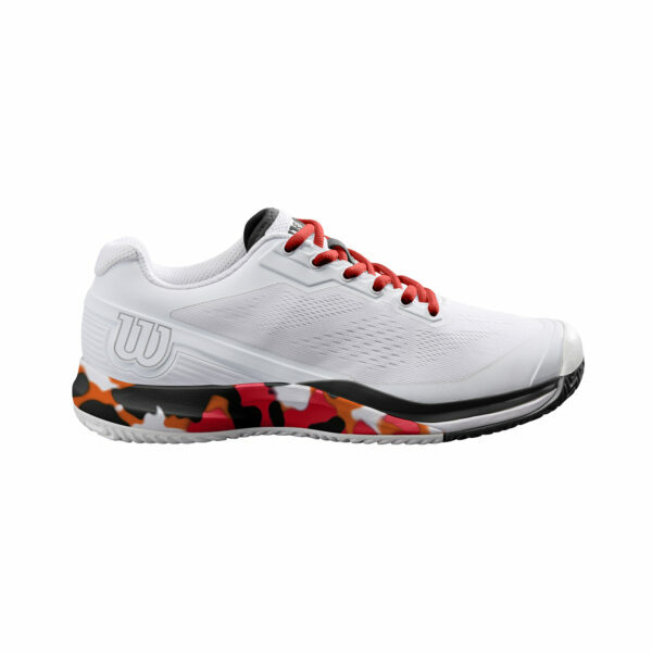 Sapatilhas Mulher Wilson Rush Pro 3.5 WhiteKoicamoRed - 2