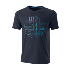 T-Shirt Homem Wilson Chi Skyline OuterSpace - 1