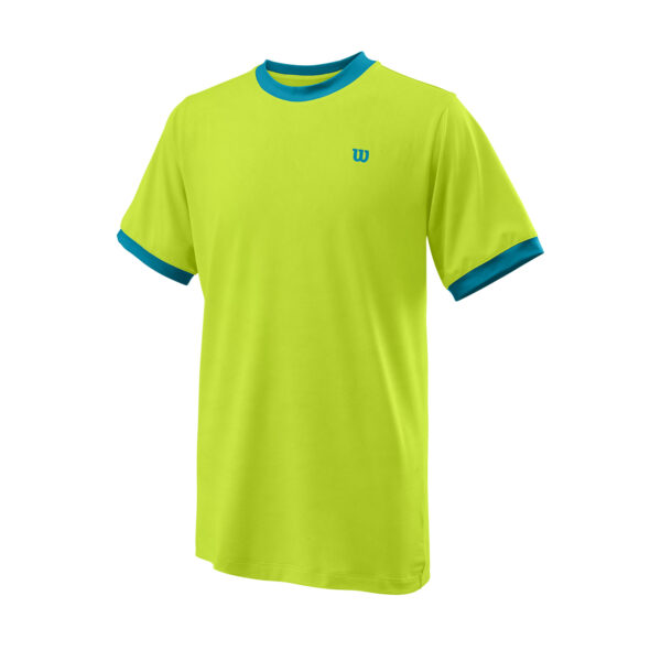 T-Shirt Menino Wilson Competition Crew Lime BarrierReef - 1