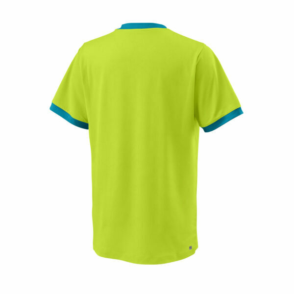 T-Shirt Menino Wilson Competition Crew Lime BarrierReef - 2