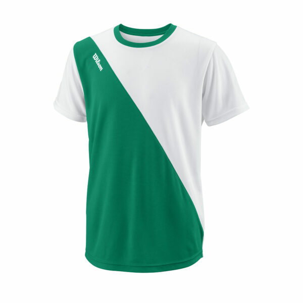T-Shirt Menino Wilson Team II Crew Green - 1