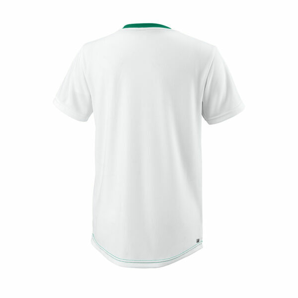 T-Shirt Menino Wilson Team II Crew Green - 2